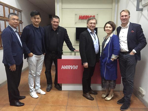 2014 - Finland Harvia CEO Tapio & Team